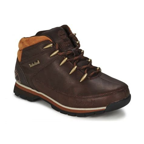 brown leather timberland boots timberland timberland sprint leather brown n42