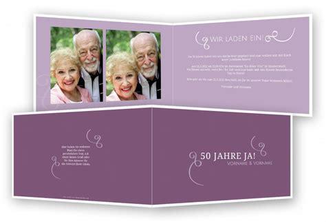 Einladungskarten Zur Goldenen Hochzeit by Einladungskarten Goldene Hochzeit Selbst Gestalten