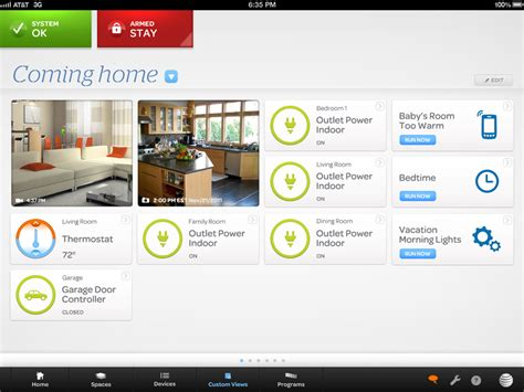 at t digital home automation platform detailed