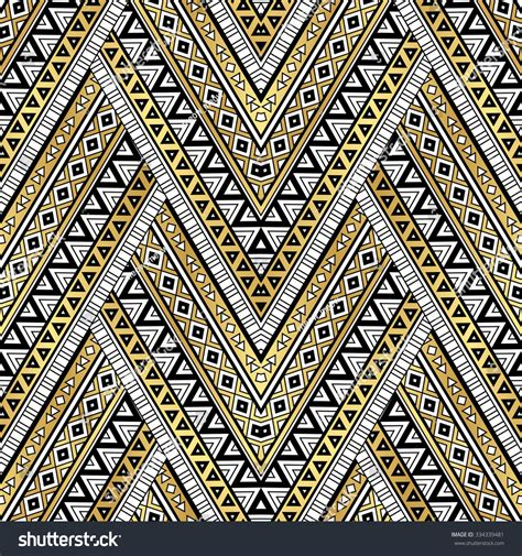 tribal pattern black and gold gold black and white color tribal navajo zigzag seamless