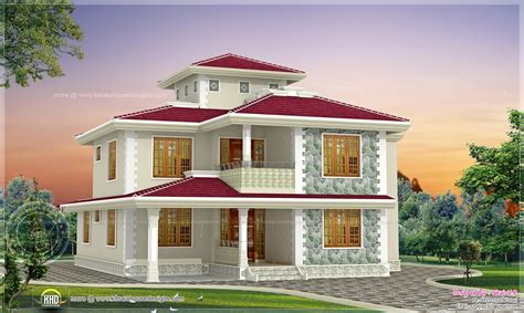 bhk kerala style home design kerala home design