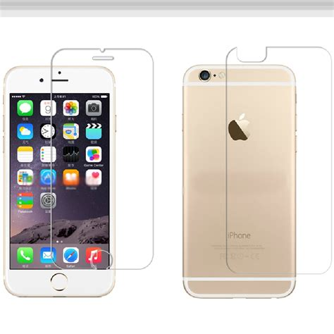 Tempered Glass Iphone 5 G S Back T1910 2 protective glass tempered glass front rear front and