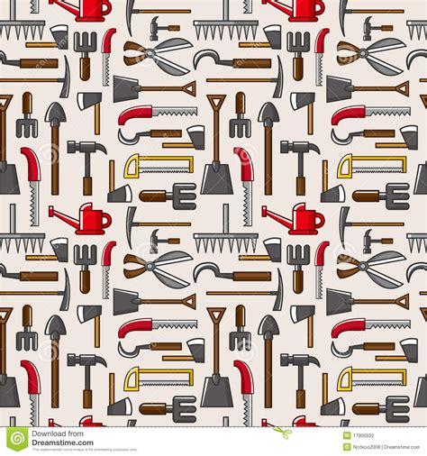 seamless pattern tool tool seamless cartoon vector cartoondealer com 59557783
