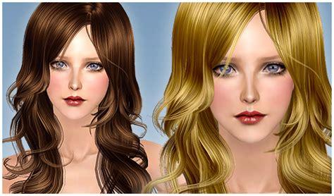 sims 2 coiffure sims 2 cheveux longs noir pour femme commande de