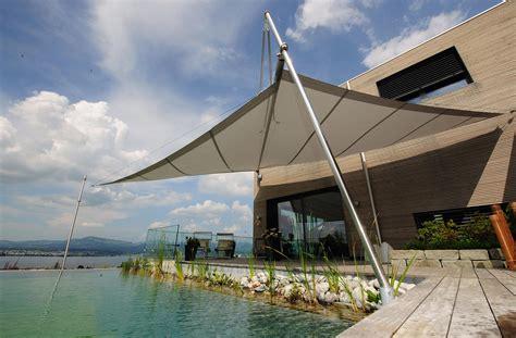 sonnensegel automatisch aufrollbar preise sonnensegel in edlem design f 252 r terrasse und garten