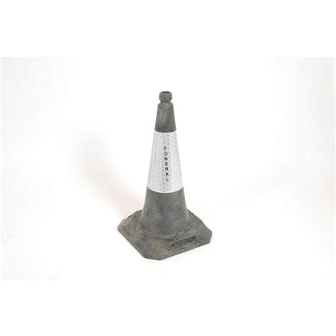 Traffic Cone 75cm funeral no parking cone 75cm 920831 shepherd s funeral
