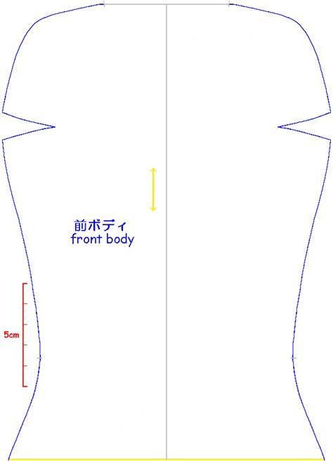 html body pattern big girl doll making
