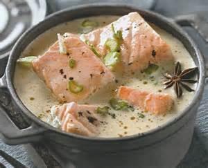 blanquette de saumon au lait de coco le de
