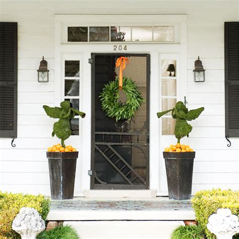 how to decorate your front door outdoor decorations
