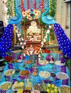 Janmashtami Home Decoration Decoration Ideas For Krishna Janmashtami Pooja Room