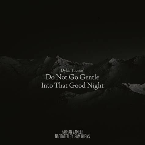 the story s do not go gentle into do not go gentle into that by farhan zameer