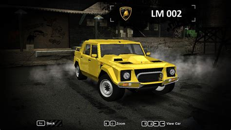 Need For Speed Most Wanted Lamborghini Need For Speed Most Wanted Lamborghini Lm002 Nfscars