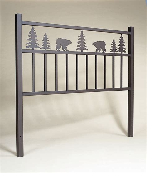 Western Headboard rustic profiles headboard design your own cabin decor western decor
