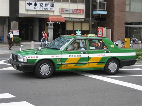 nissan cedric taxi toyota is working on the future of the taxi in japan