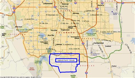 highlands ranch colorado map homes for sale in highlands ranch highlands ranch real