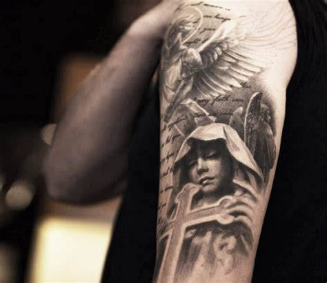 tattoo religious angel religious tattoo by niki norberg photo no 13915