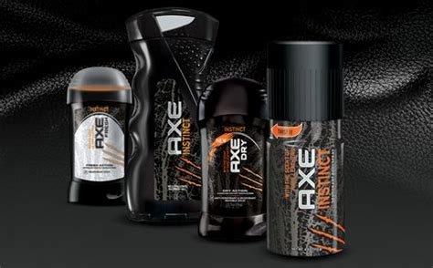 Parfum Axe Black New axe instinct experience the power of the leather new fragrances