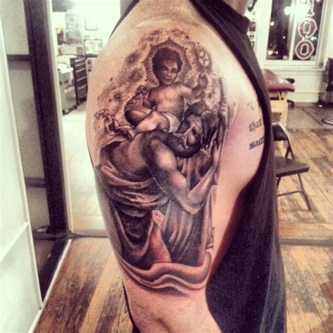 st christopher tattoo 25 best ideas about st christopher on
