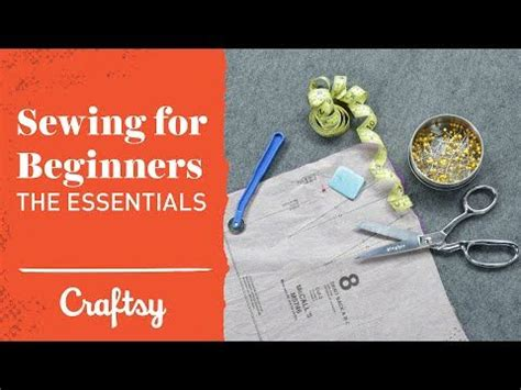 pattern making for beginners youtube video tutorial sewing for beginners fabric prep