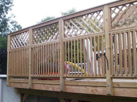 porch privacy railing google search for the garden