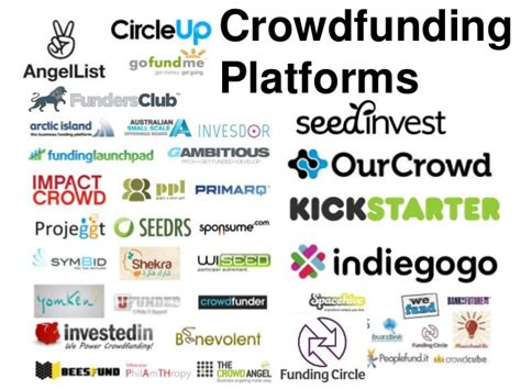 crowdfunding platforms bits and pieces of crowdfunding owlspark