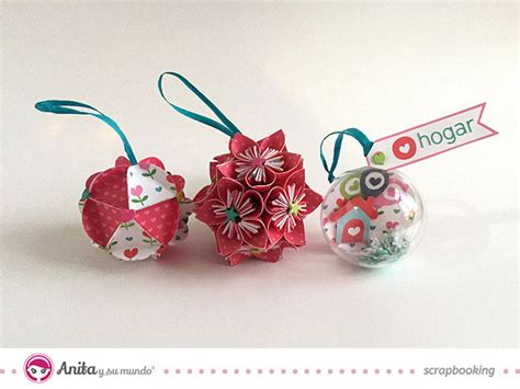 c 243 mo hacer bolas de navidad con papel de manera f 225 cil