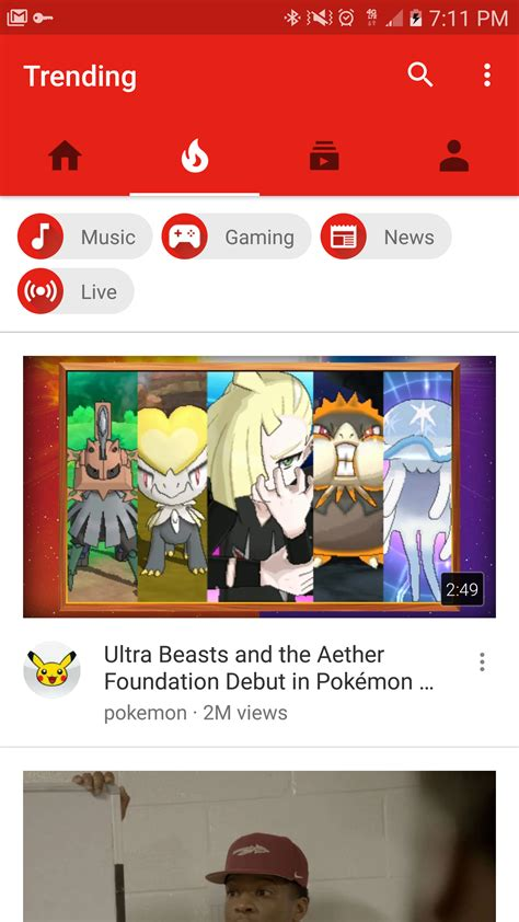 youtube android layout design new youtube ui with navigation bar on bottom rolling out