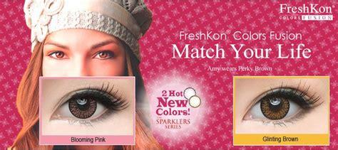 Freshkon Colors Fusion Sparklers freshkon colors fusion cosmetic contact lenses