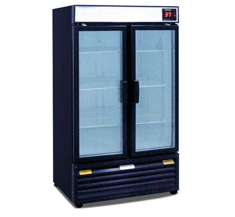 Beverage Cooler Glass Door Beverage Cooler Commercial Feel The Home
