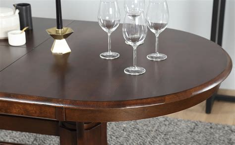 townhouse oval extending wood dining townhouse oval wood extending dining table and 4 chairs set bewley slate only 163 469 99