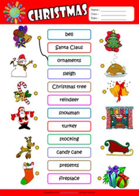 printable christmas cards esl christmas vocabulary christmas cards