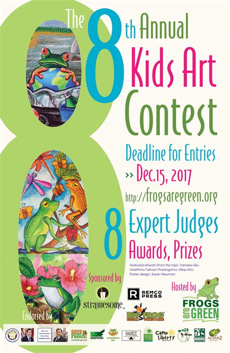 contest for students 2017 contest hibians reptiles frogs are