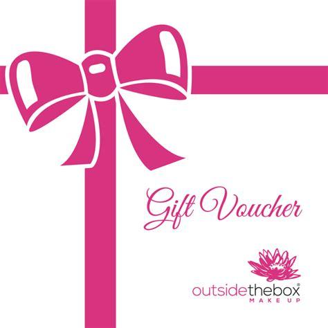 makeup gift card template gift voucher outsidethebox makeup