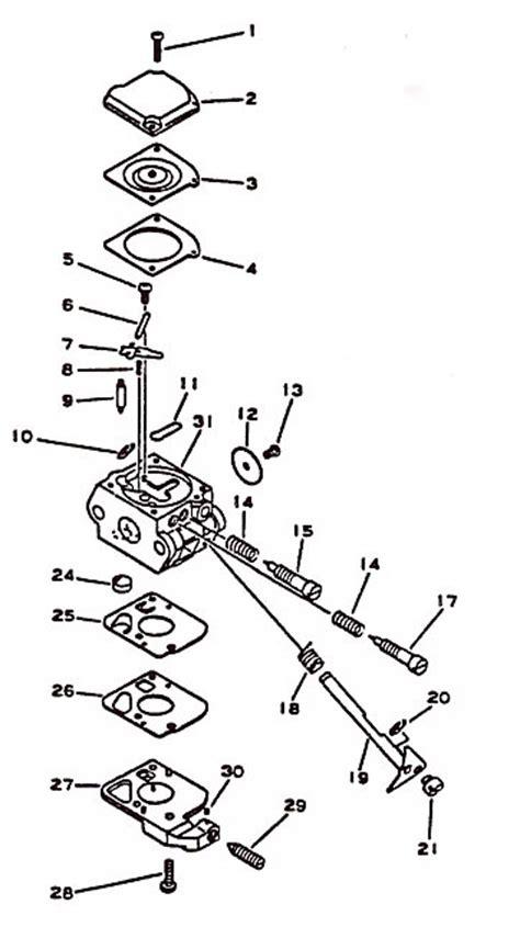 zama carburetor diagram zama w out primmer