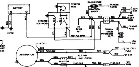 How To Wire Alternator Amp Starter From Engine Wiring Harness