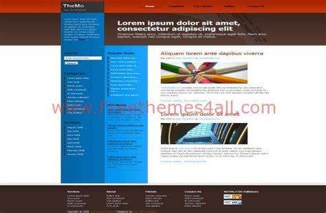 web templates for articles free ezine articles css template download