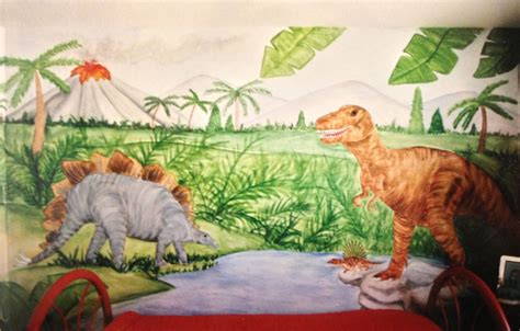 dinosaur wall mural dinosaur wallpaper mural images