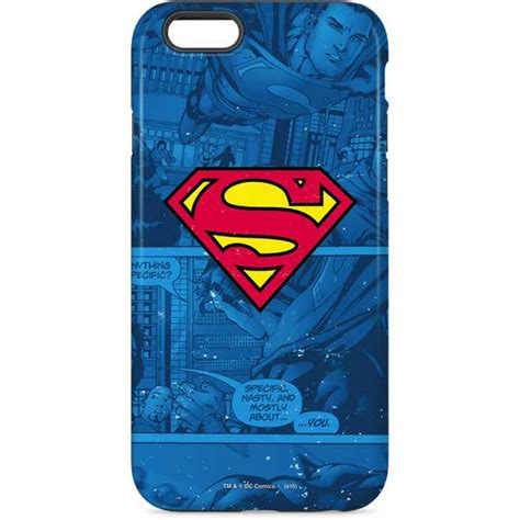 Iphone 7 Superman Kulit Pu Casing superman cases skins official dc comics collectibles