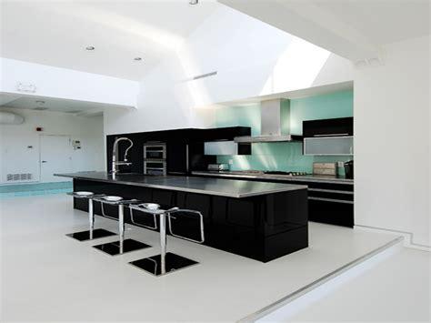wonderful black and white kitchen decorating idea kitchen modern modern kitchen glubdubs