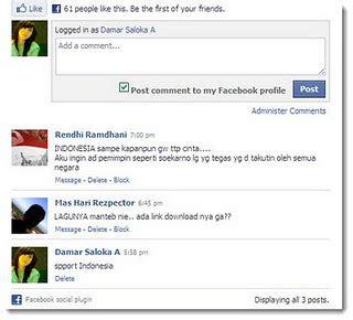 membuat form komentar html cara membuat form komentar facebook di blog andri