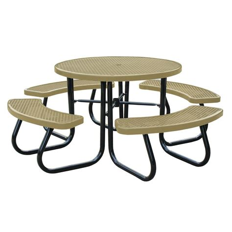 portable commercial park picnic table