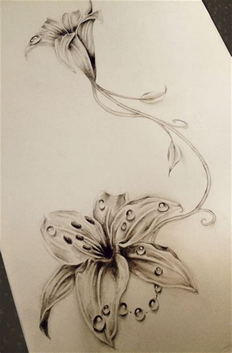 tattoo pictures lilies lily tattoo by astenskaya on deviantart