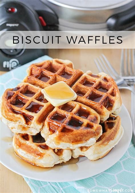 waffle biscuits how to make waffles without waffle mix