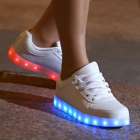 ebay light up shoes boys girls kids led light up luminous shoes casual sports