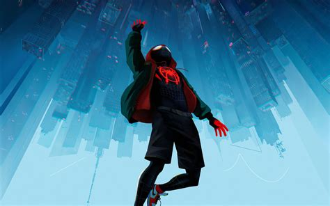 wallpaper spider man   spider verse animated