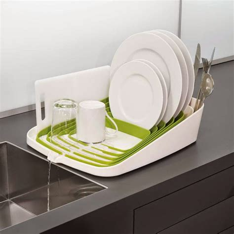 Joseph Joseph Dish Rack by Clever Designs That Reinvent The Humble Dish Drying Rack
