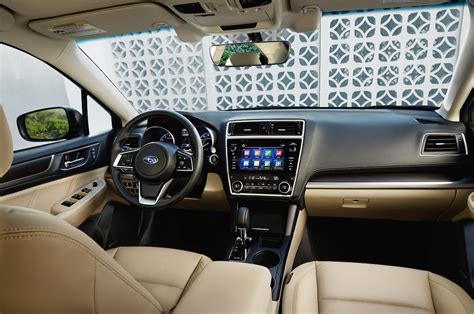 subaru legacy 2017 interior refreshed 2018 subaru legacy will debut at the chicago