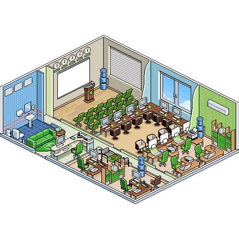 Office Tycoon by Tycoon Tower Office Pixeljoint
