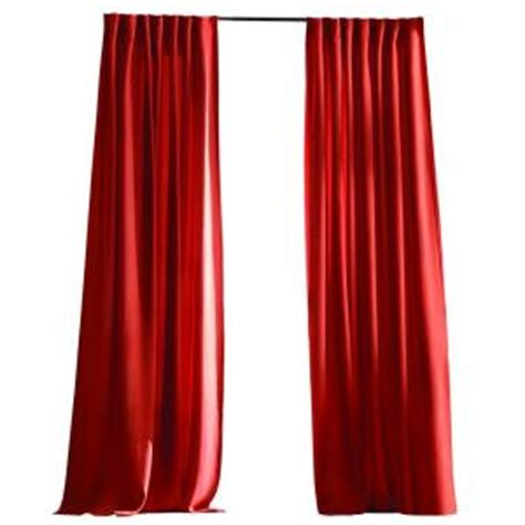 red outdoor curtains home decorators collection chili red outdoor back tab