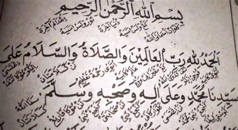 Kitab Syarah Kitab Al Hikam Kh Sholeh Darat 5 hal yang tidak disadari santri tentang aksara jawi pegon